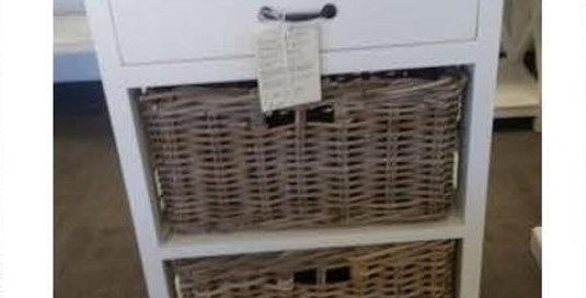 Kubu 1 Drawer 2 Baskets