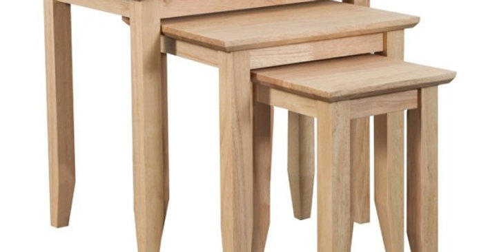Quadrat Nest of 3 Tables