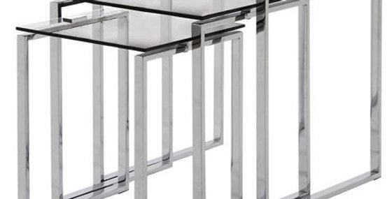 Katrine Glass Nest of Tables