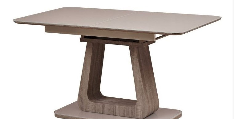 Memphis Cappuccino Extension Dining Table