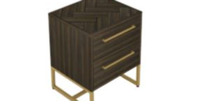 Roma Bedside 2 Drawers