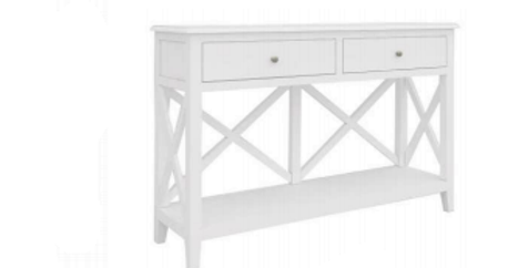 Hampton 2 Drw Console Table