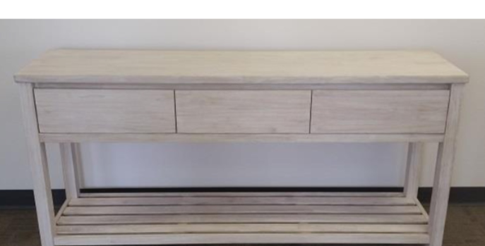 Ocean Grove 3 Drawer Console Table