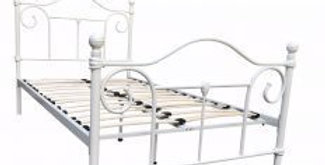 Avont Wrought Iron Single Bed
