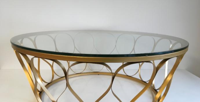 Glass Chrome - Coffee Table