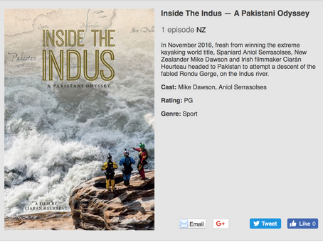 Inside The Indus - Air New Zealand