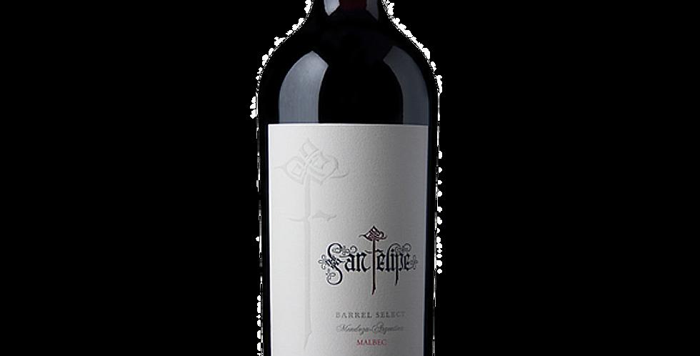 【聖菲利佩】橡木精選馬爾貝紅葡萄酒