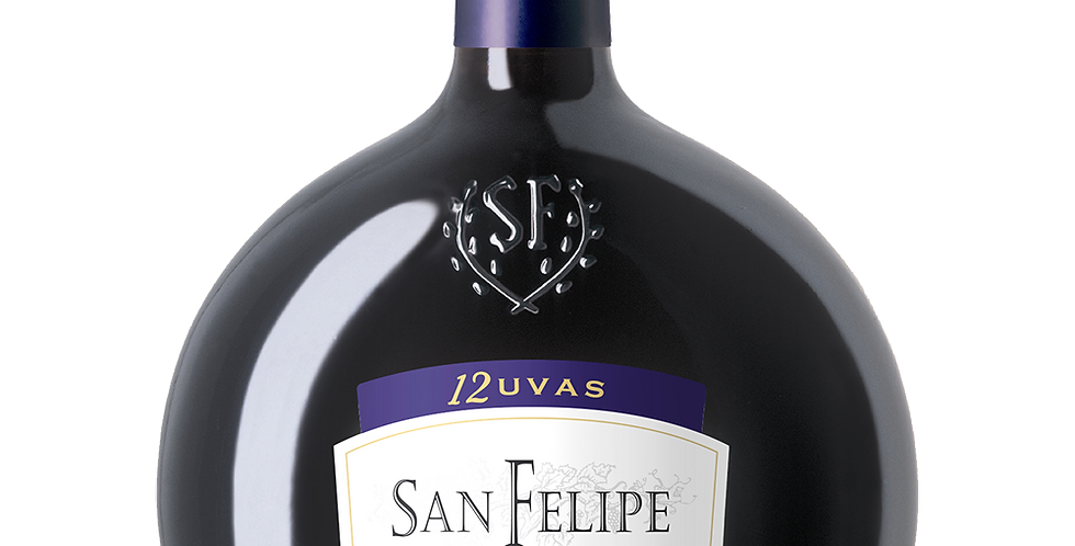 【聖菲利佩】十二幸運葡萄紅酒 (酒壺限量版)