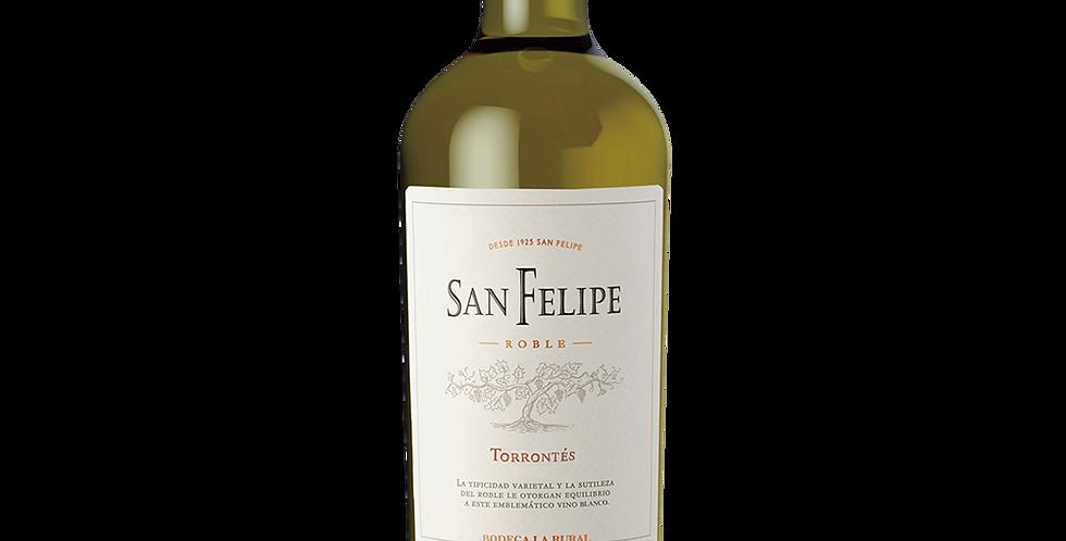 【聖菲利佩】橡木多倫特白葡萄酒