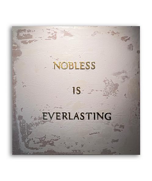 La nobleza es eterna