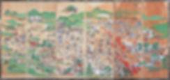 関ヶ原合戦図屏風