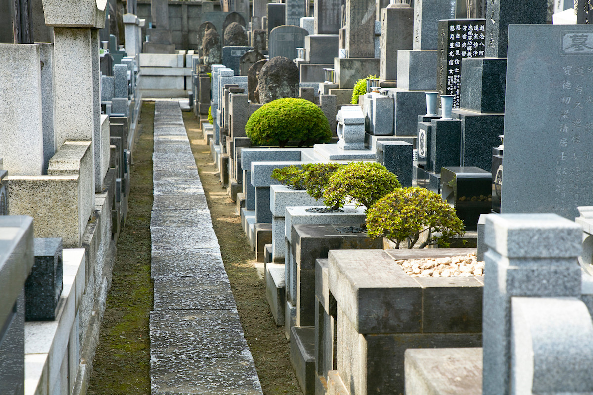 綾瀬 薬師寺 墓地