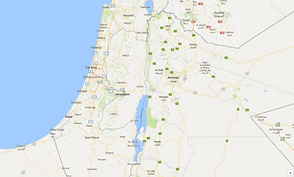Google Maps West Bank Palestine Gaza