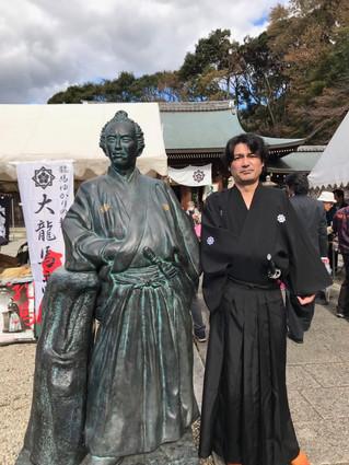 京都「龍馬祭り」に参加させていただきました。