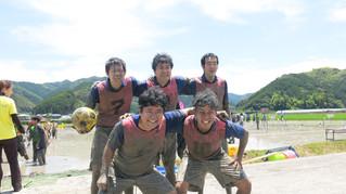 「どろんこサッカー大会!」に☆初出場☆しました。