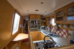 View of galley.