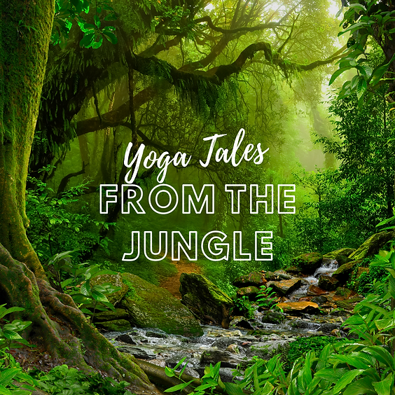 Yoga Tales from the Jungle