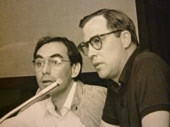 Aquí amb Bob Wilson, el 1985...