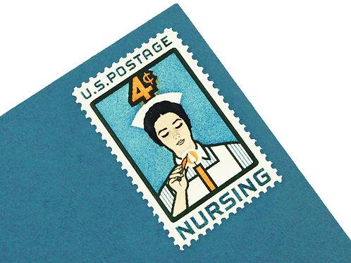 4¢ Nursing - 25 Stamps