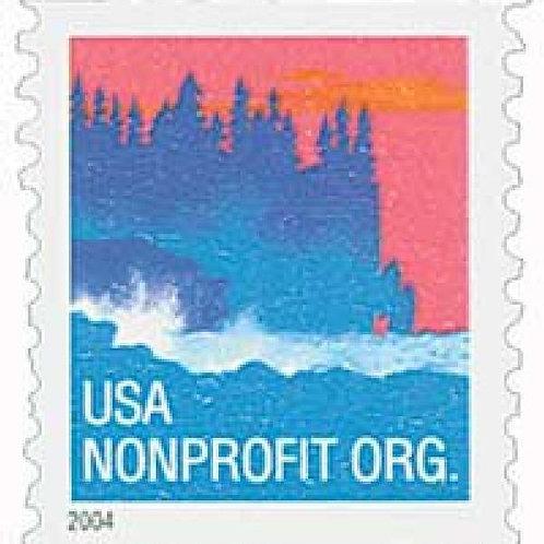Pack of 25 Unused Sea Coast Stamps - 5c - 2004 - Unused Vintage Postage