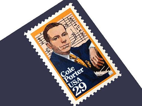 Pack of 25 Unused Cole Porter- 29c - 1991 - Unused - Quantity of 25