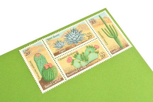 20¢ Desert Plants - 24 Stamps