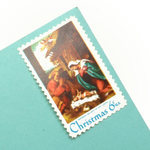 6¢ Nativity Scene - 25 Stamps