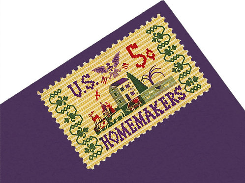 5¢ Homemakers Needlepoint - 25 Stamps
