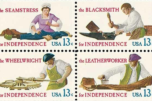 25 Skilled Hands for Independence Postage Stamps - 13c - 1977 - Unused