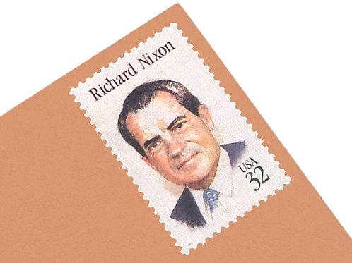 32¢ Richard Nixon - 25 Stamps