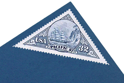 32¢ Ship and Stagecoach - 16 Stamps