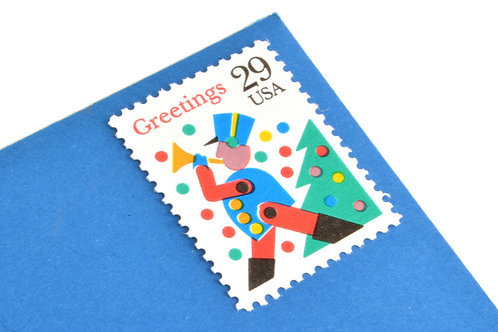 29¢ Christmas Greetings - 25 Stamps