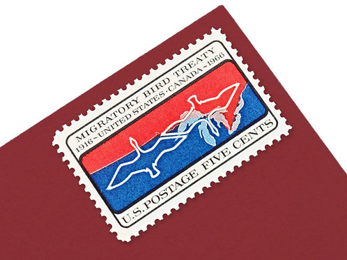 5¢ Migratory Bird Treaty - 25 Stamps