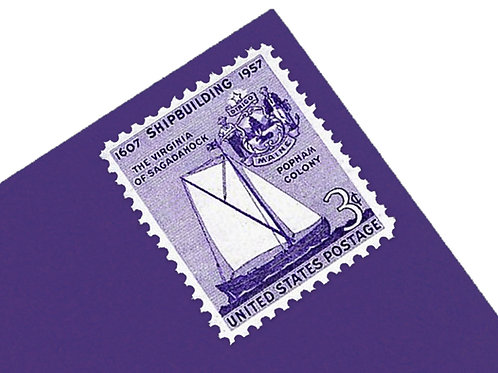 3¢ Virginia Shipbuilding - 25 Stamps