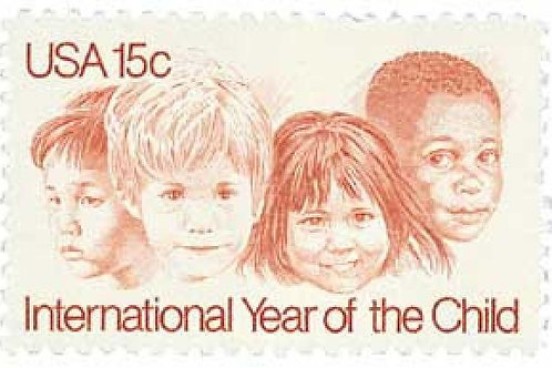 Pack of 25 Unused International Year of the Child Stamps - 15c - 1979 - Vintage