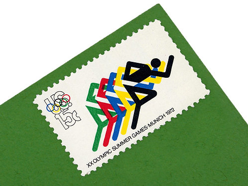 15¢ 20th Summer Olympics - 25 Stamps