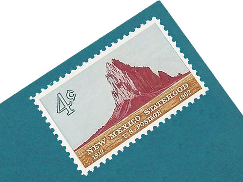 4¢ New Mexico Statehood - 25 Stamps