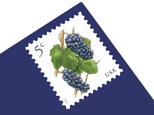 5¢ Grapes - 25 Stamps