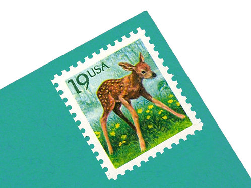19¢ Deer Fawn - 25 Stamps
