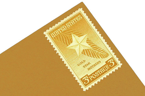3¢ Gold Star Mothers - 25 Stamps