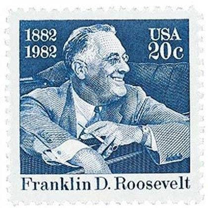 Pack of 24 Unused Franklin Roosevelt - 20c - 1983 - Unused Vintage Stamps
