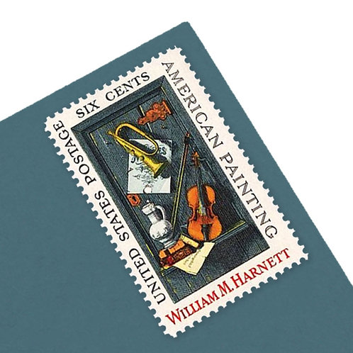 6¢ American Painting - 25 Stamps
