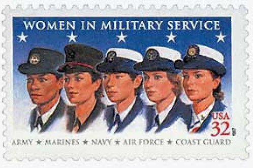 20 Women in Military Service Postage Stamps - 32c - 1997 - Unused