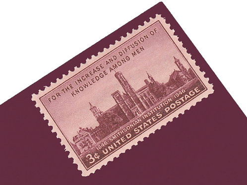 3¢ Smithsonian Institution - 25 Stamps