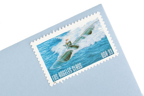 33¢ Los Angeles Class Submarine - 20 Stamps