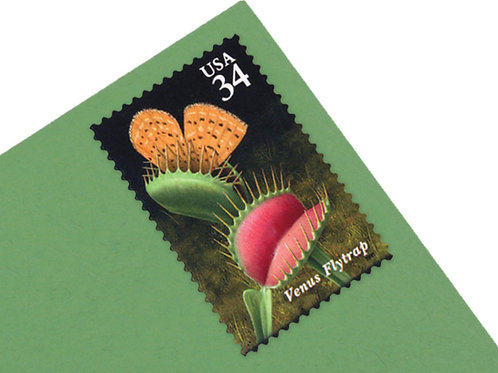 34¢ Carnivorous Plants - 20 Stamps
