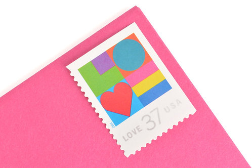 37¢ Love - 20 Stamps
