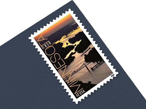 42¢ Minnesota Statehood - 20 Stamps