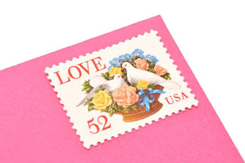 52¢ Love Doves - 25 Stamps