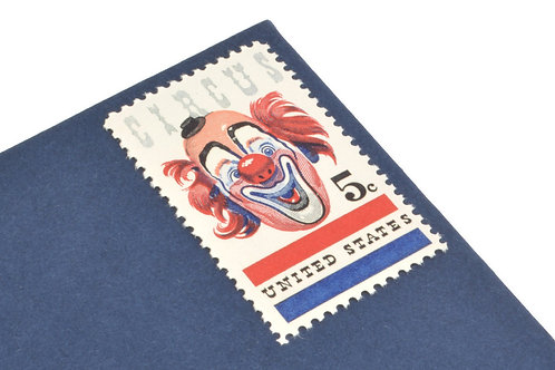 5¢ Circus Clown - 25 Stamps